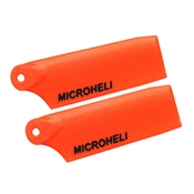 Microheli Plastic Tail Blade 29mm, Orange: Blade 130 X