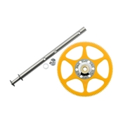 Microheli Delrin Main Gear with Auto-Rotation Hub Set: Blade 130 X