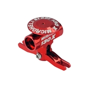 Microheli Aluminum Main Rotor Hub with Button, Red: Blade 130 X