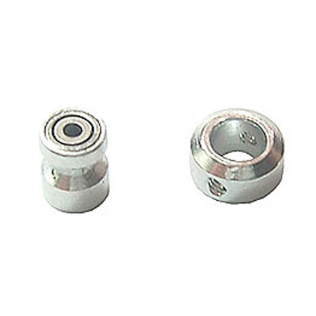 Microheli Innershaft Bearing Housing with Shaft Collar: MCX, MCX2