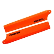 Microheli Plastic Main Blade 85mm, Orange: Blade Nano CP X