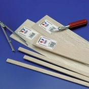 Balsa Sheets 1/32 x 3 x 36 (sold individually)