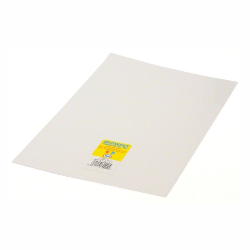 Midwest 702-02 Clear Sheet PVC .010