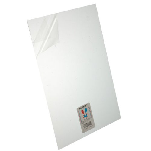 Midwest 703-01 Clear Sheet Poly .020