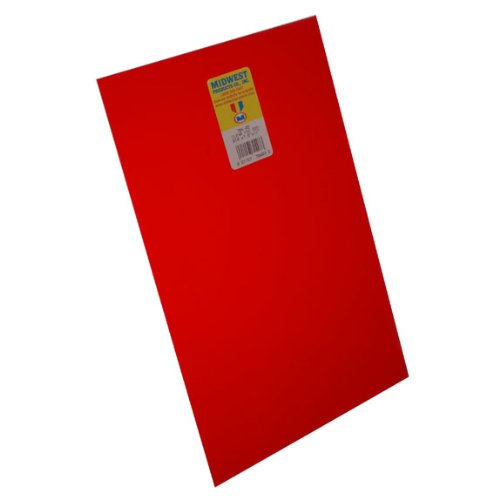 Midwest Red Sheet PVC .010 (4)