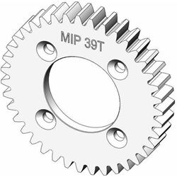 39 Tooth Spur Gear: Losi TEN-SCTE