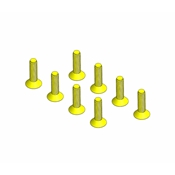 5/40 x 1/2 Flat Head Screws (8)