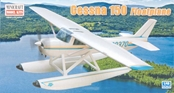 Minicraft 1/48 Cessna 150 w/Floats Bush Plane