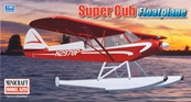 Minicraft 1/48 Piper Super Cub w/Floats Bush Plane