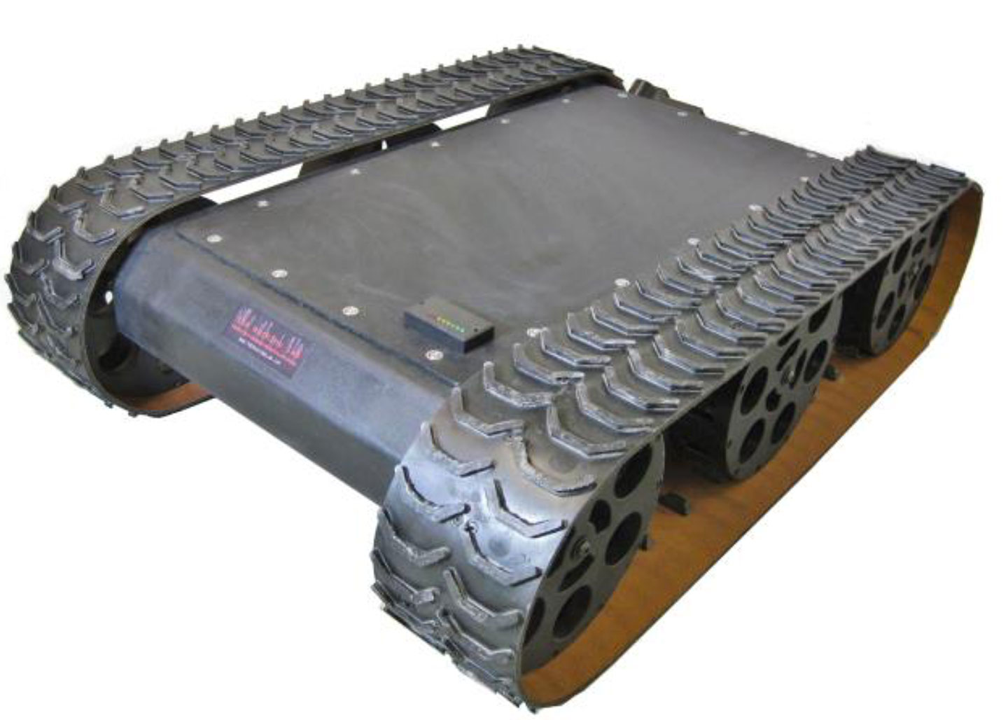 MMP-40 Mechanical Mobile Platform- Two Motor With Black Tracks & Encoders