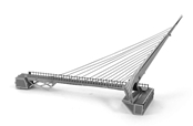 Metal Earth Sundial Bridge Kit