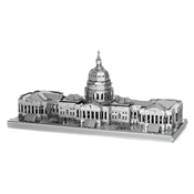 Metal Earth- United States Capitol- Silver Edition 2 Sheets