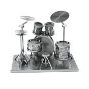 Metal Earth: Drum Set - Metal Sculpture Kit