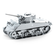 Metal Earth: Sherman Tank - Metal Sculpture Kit