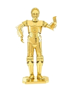 Metal Earth: Star Wars C-3PO Gold