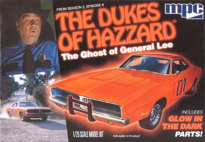 MPC754 1/25 Ghost of General Lee