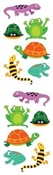 Mrs. Grossmans Sticker Strip- Chubby Amphibians
