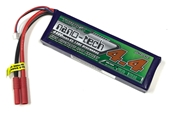 Turnigy Nano-Tech 4400mAh 2S 130C LiPo - 4mm Bullet Connectors