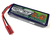 Turnigy Nano-Tech 5000mAh 4S 90C LiPo - 4mm Bullet Connectors