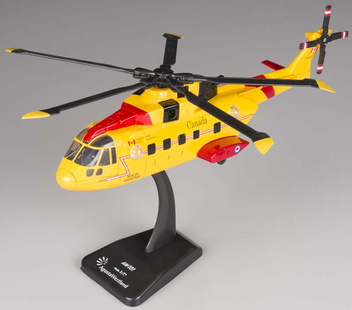 New-Ray Toys 1/72 Agusta EH 101 Canadian Search/Rescue