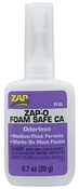 Zap-O Foam Safe CA+ Glue, 0.7oz.
