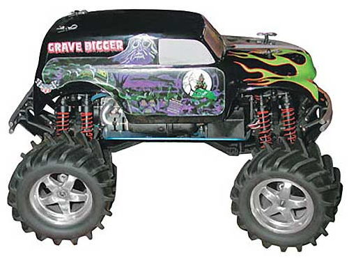 Gravedigger #12 Body, Clear by Parma - PAR10165