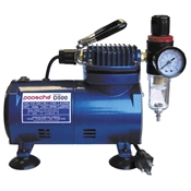 D500 Compressor w/R75 Regulator by Paasche Airbrush Company