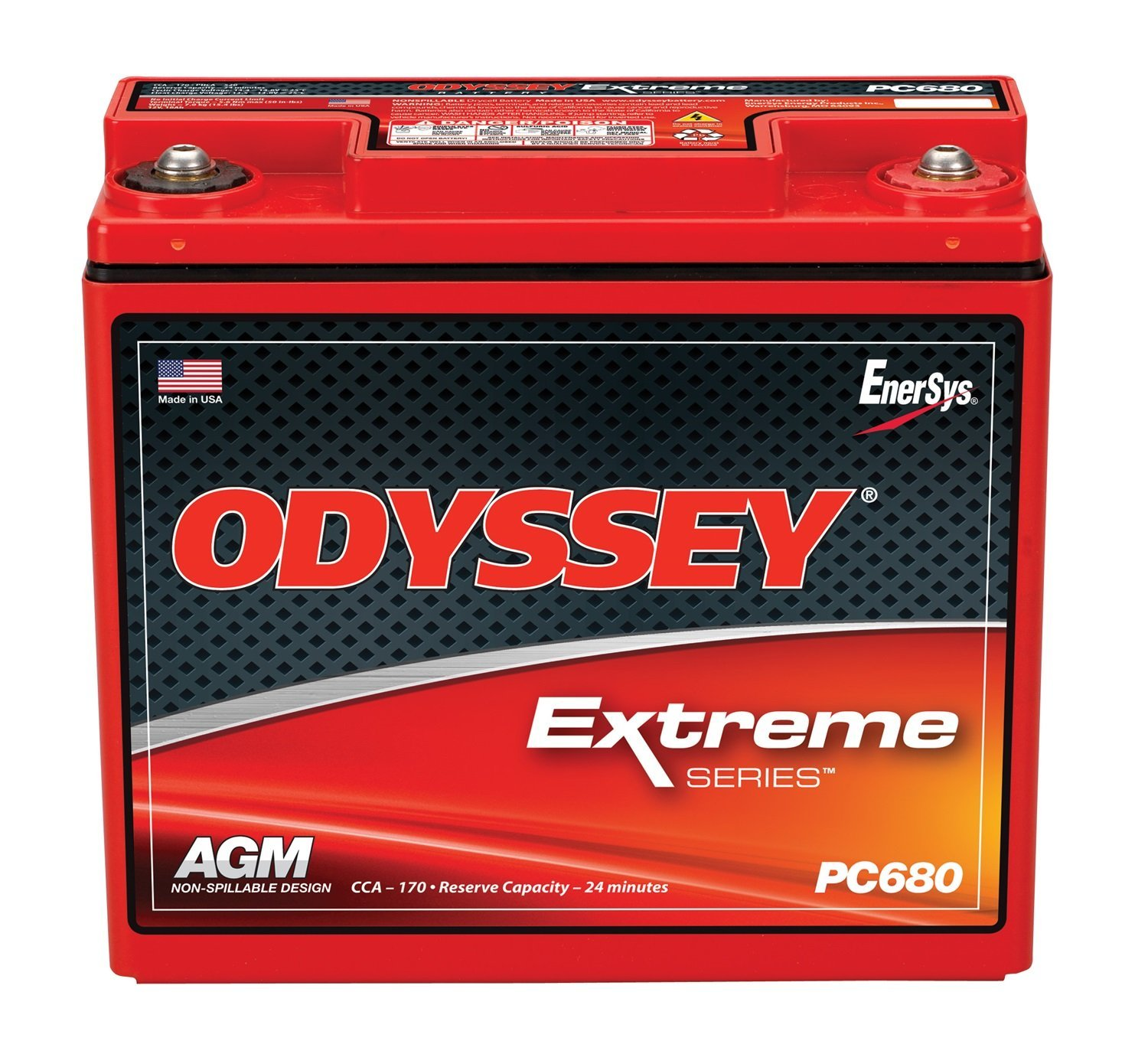 Odyssey PC680MJ 12V 17AH SLA Battery
