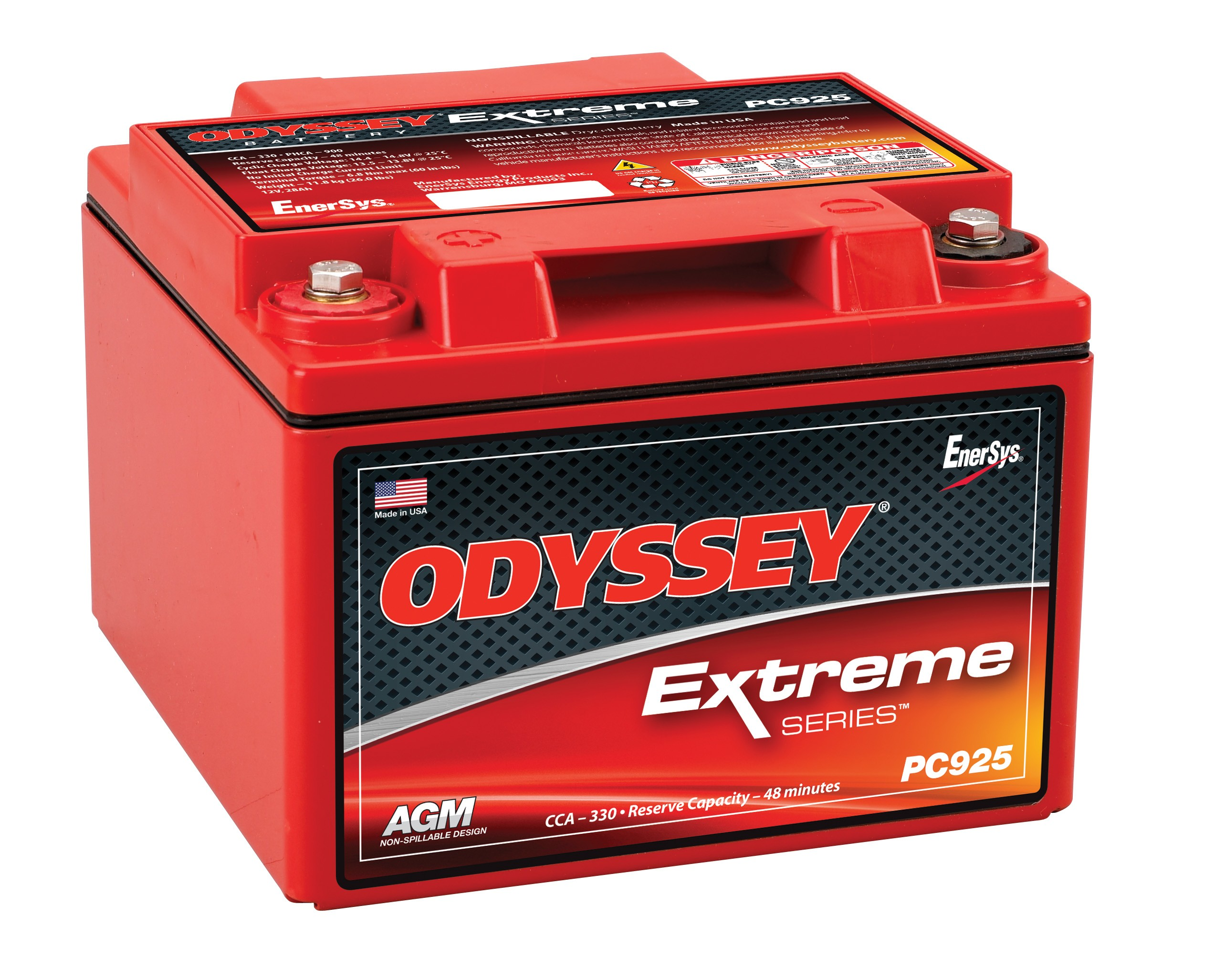 Odyssey PC925LMJ 12V 28AH SLA Battery