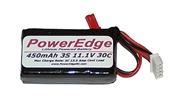 PowerEdge 450mAh 11.1V 3S Triple Cell 30C LiPoly Pack