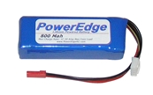 PowerEdge 800mAh 7.4V 2S Double Cell 20C LiPoly Pack