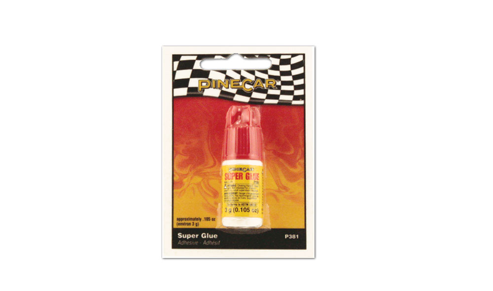 Pinecar P381 Super Glue, .105oz - PIN381