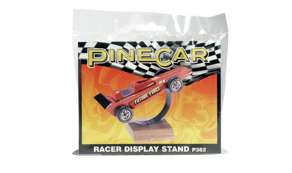 Pinecar P382 Racer Display Stand - PIN382