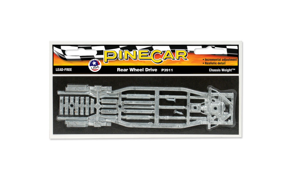 Pinecar P3911 R Wheel Chassis Weight - PIN3911