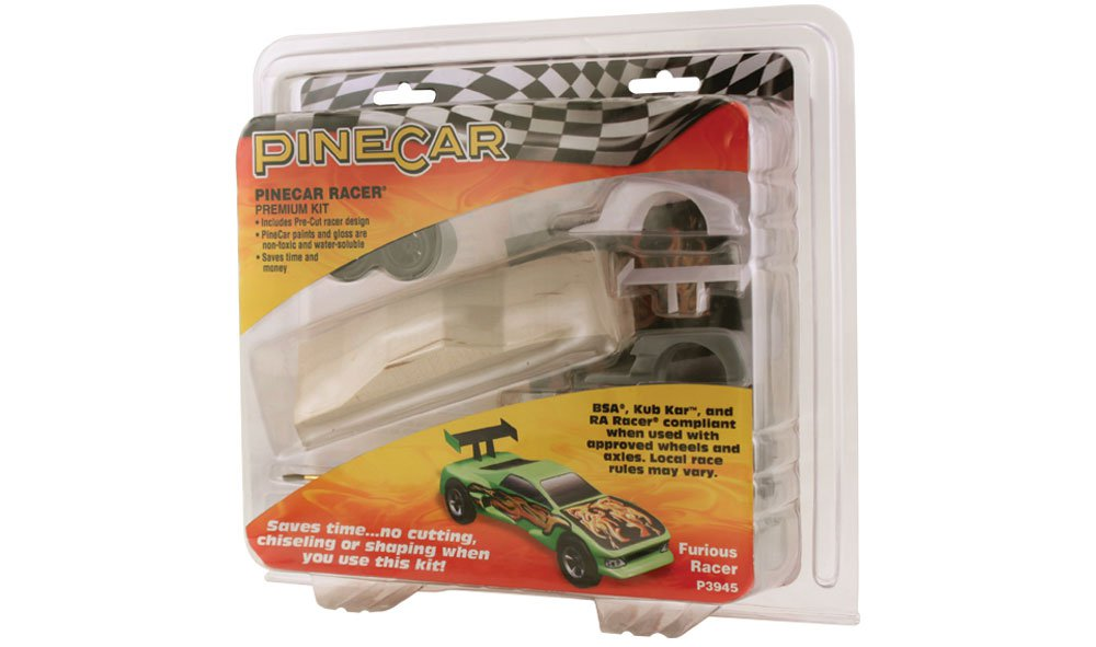 Pinecar P3945 Premium Furious Racer Kit