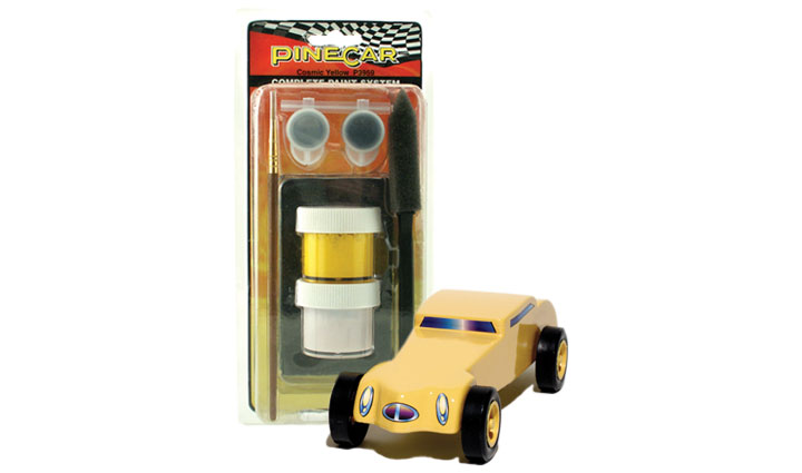 Pinecar P3959 Cosmic Yellow Complete Paint System
