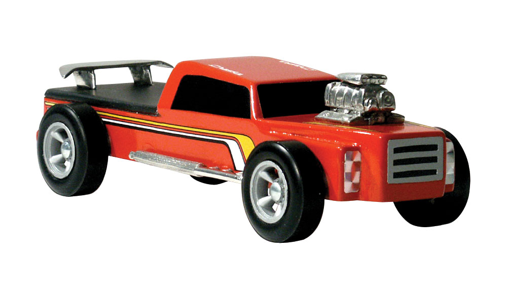 Pinecar P3966 Truckster 4x4 Pre-Cut Designs - PIN3966