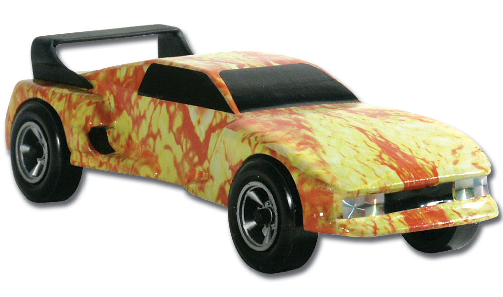 Pinecar P3977 Fire Starter Custom Body Skin - PIN3977