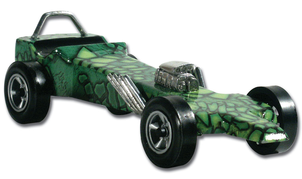 Pinecar P3979 Gator Custom Body Skin - PIN3979
