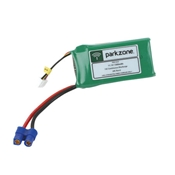 Parkzone 1300mAh 11.1V Triple Cell 3S LiPoly Pack - EC3 connector