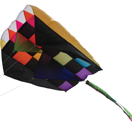 Parafoil 5, Rainbow Tecmo, 20 x 32in.  by Premier Kites & Designs