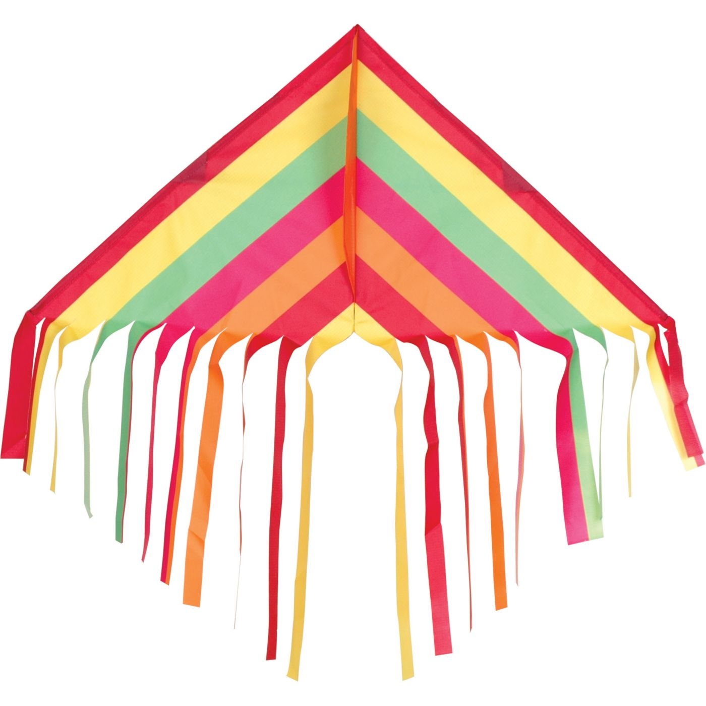 Fringe Delta Warm Stripes Kite