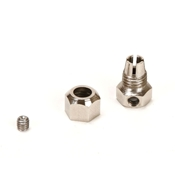 Motor Coupler, 5mm (Motor)/4mm (Flexshaft)
