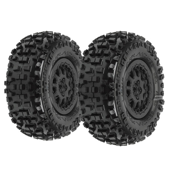 Badlands SC 2.2/3 M2 Susp Kit Renegade Whl,Blk:SLH