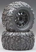 1199-00 Rock Rage 3.8 All Terrain Truck Tires (2)
