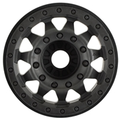 F-11 2.8, TRA Bead Blk Whl, 17mm Hex :ST4x4