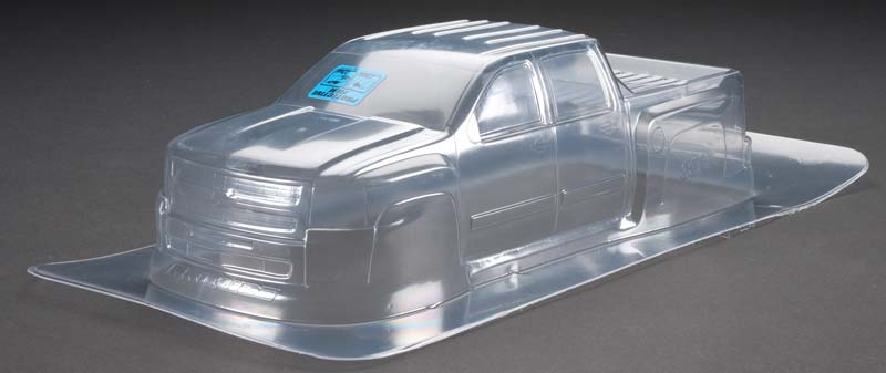 Chevy Silverado 2500 HD Clear Body: Stampede
