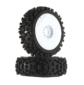 9021-18 1/8 Badlands XTR All Terrain Buggy Tires Mounte