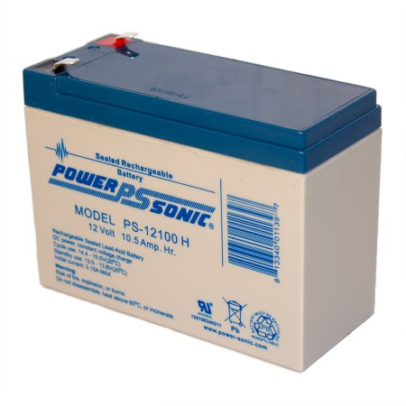 Powersonic PSH-12100 F2 12V 10.5Ah High Discharge SLA Battery