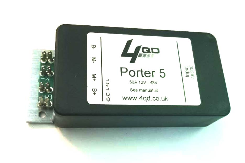 Porter PT2-05 Single-Direction 12-48V 50A Speed Controller